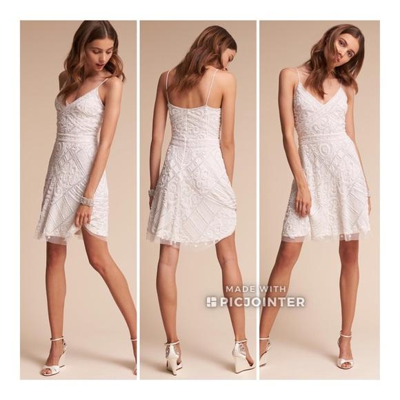 051fcb06a2 BHLDN Moxie Dress Lara Beaded Mini 4